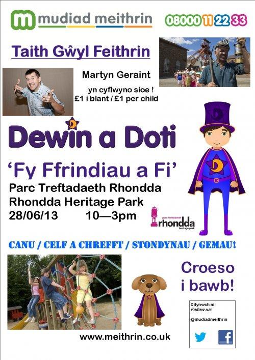 Taith Gŵyl Feithrin